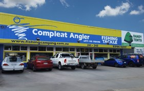 Compleat Angler and Camping World Dandenong