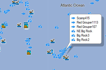 Download Fishing Maps